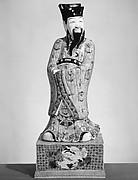 Standing Taoist God