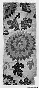 Piece from Sutra Cover with Chrysanthemum