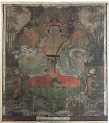 Guanyin Seated on a Lotus Throne