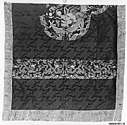 Section from Uncut Robe-Length