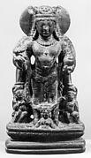 Standing Vishnu Flanked by Attendants