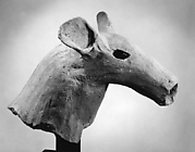 Haniwa Head of Deer