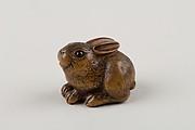 Netsuke of a Seated Hare