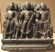 The Brahmanical Triad:  Brahma, Shiva, Vishnu