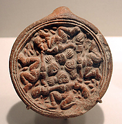 Auspicious Emblem with Four Dancing Figures
