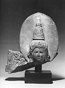 Head of a Buddhist Deity, Perhaps Amitabha