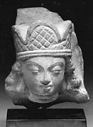 Head of Vishnu Wearing Three-Lobed Crown
