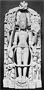 Standing Vishnu and His Avatars