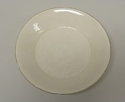 Dish with Hexafoil Rim