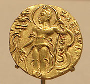 Gold Coin Showing King Chandragupta II as an Archer