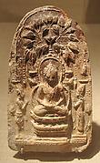 Buddha Seated under the Bodhi Tree