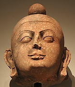Head of a Buddha or a Jain Tirthankara