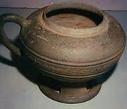 Pedestalled Jar
