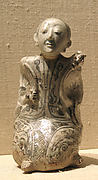 Water Dropper in the Form of a Kneeling Hunchbacked Chinese Man
