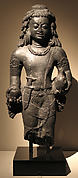 Standing Male Deity (possibly Shiva)