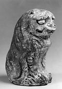 Tomb Figure of Seated Lion