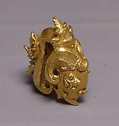 Ear Ornament with Ram's Head