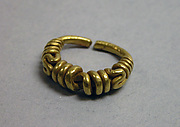 Ring with Twisted Coil Motif
