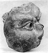 Fragment: Head of Buddhist Image