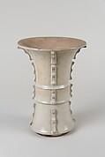 Vase in shape of archaic bronze vessel