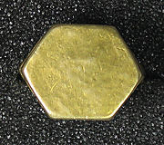 Ring with Hexagonal Bezel