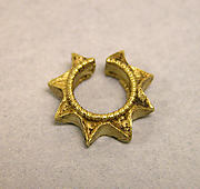 Pair of Ear Ornaments, Stars