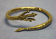 Bracelet with Three-Headed Snake