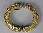 Bracelet, Repousse and Foliate