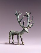 Belt Pendant in the Shape of a Standing Stag