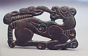 Belt Plaque in the Shape of a Recumbent Tiger