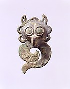 Harness Ornament with Owl's Head