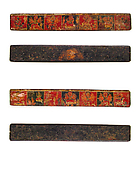 Pair of Book Covers with Scenes from the Devimahatmya