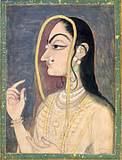 Radha, the Beloved of Krishna