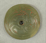 Pendant in the Shape of a Disk
