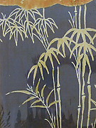Textile with Bamboo and Partial Cloud