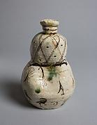 Gourd-Shaped Sake Flask