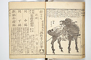 Picture Book of New Designs for the Various Crafts (Shōshoku ehon Katsushika shin hinagata)