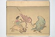 Kyōsai's Pictures of One Hundred Demons (Kyōsai hyakki gadan)