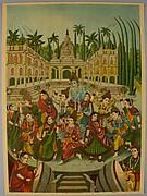 Krishna and Gopis