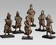 十二神将の内<br/>Six of the Twelve Divine Generals (Jūni shinshō)