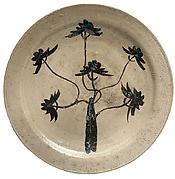 Platter (Ōzara) with Pine Tree