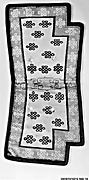 "Saddle Rug with ""Endless Knots"""