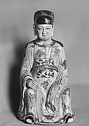 Figure with Court Headdress