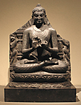 Seated Preaching Buddha