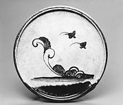 Plate with Floral and Other Designs