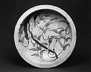Ishizara Plate with Design of Willow Branch