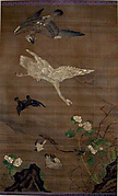 Birds Pursued by an Eagle