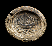 Impression from a Seal Depicting a Ship at Sea