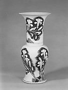 Vase with Magnolias