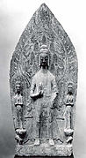 Buddha with Two Bodhisattvas